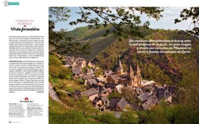 Double-page dans le n°8 de Partir en France