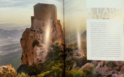 Double page dans le livre «Perché, la France d'en haut» aux éditions Belles Balades.