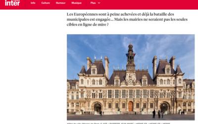 Publication sur le site de France Inter