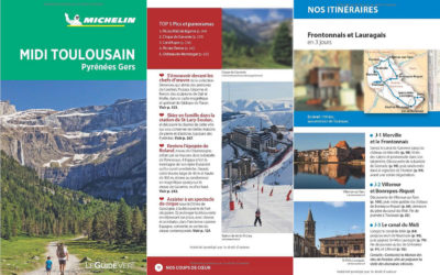 Guide Vert Michelin Midi Toulousain, Pyrénées, Gers