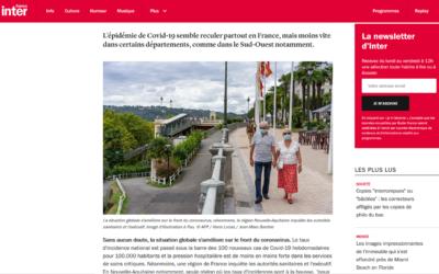 Le boulevard des Pyrénées sur le site de France Inter