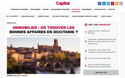 La ville d'Albi dans la magazine Capital
