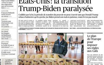 Le marché de Samatan dans le Figaro
